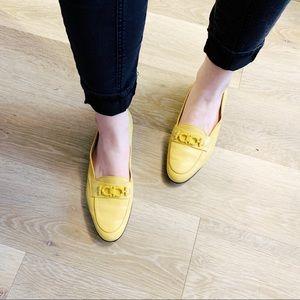 Salvatore Ferragamo | Yellow Italian Loafers